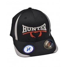 Hunter Classic FlexFit Hat - Black/Gray
