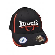 Hunter Classic FlexFit Hat - Black/Red