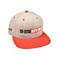 Jiu-Jitsu Old's Cool Snapback Hat - Gray/Red