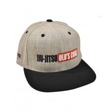 Jiu-Jitsu Old's Cool Snapback Hat - Gray/Black