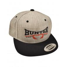 Hunter Classic Snapback Hat - Gray/Black