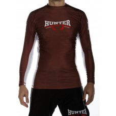 Competition L/S Rash Guard - Brown