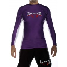 Competition L/S Rash Guard - Purple