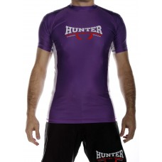 Competition S/S Rash Guard - Purple